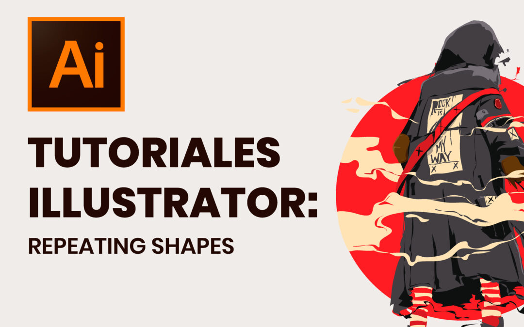 Tutoriales Illustrator: Repeating shapes